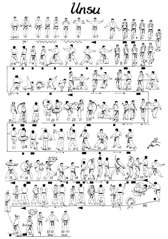 karaté kata en pi