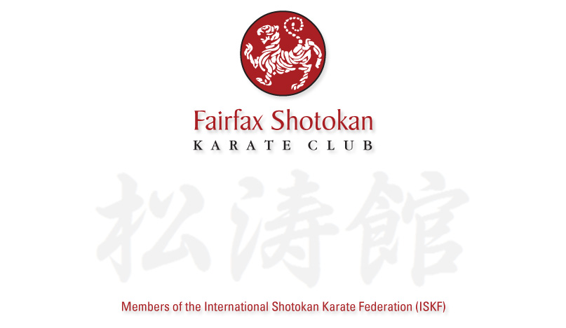 Fairfax Shotokan Karate Club • Northern Virginia Karate Club